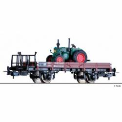 Tillig H0 76739 - Low side car X05 of the DB with load, Ep. III