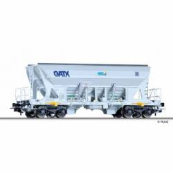 Tillig H0 76743 - Hopper car Faccns of the GATX / Nordic Rail Service / Basalt AG, Ep. VI