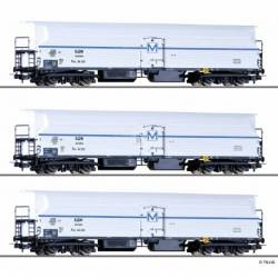Tillig H0 70041 - Freight car set of the BDZ with three different refridgerator cars FKM 4, Ep. III