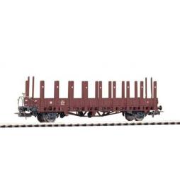 Wagon Towarowy Platf.z kłonicami, Ulm DRG II, m Bb. - Piko 54476