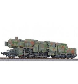 Liliput L131501 - Lokomotywa BR 42 Ep. II w kamuflarzu wojennym