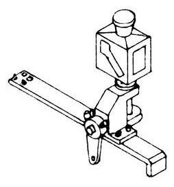 Weinert 72380 - Latarnia zwrotnicowa (prawa/lewa) bez podświetlenia, MeinGleis