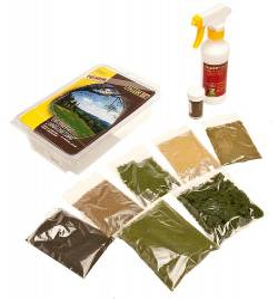 FALLER 171671 - Zestaw startowy Tereny zielone na makiecie / dioramie
