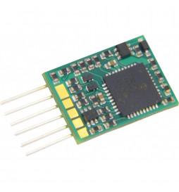 Dekoder jazdy i oświetlenia Zimo MX617N DCC 6-pin direct