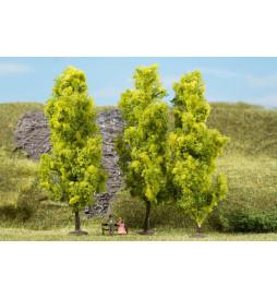 Auhagen 70939 - Drzewa liściaste jasnozielone 15 cm, 3szt