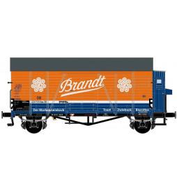 Exact-train EX20242 - Wagon towarowy DB Oppeln Brandt mit Bremserhaus Epoche 3
