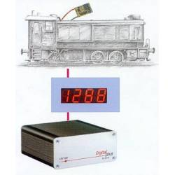 Lenz 15120 - LRC120 Address- and Displaymodule for locomotive