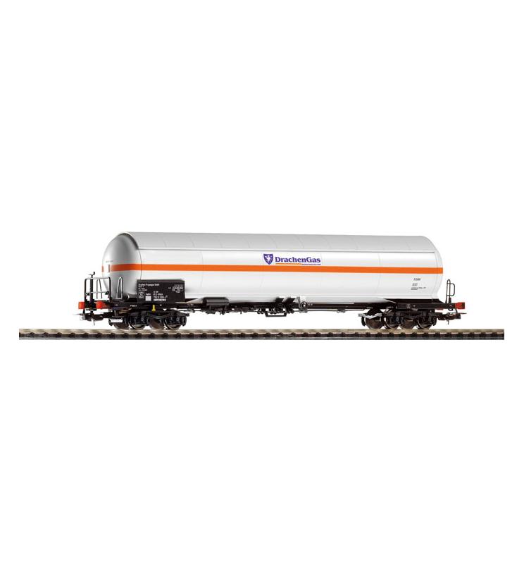 Wagon Towarowy Cysterna ciśnień. DRACHEN GAS DB AG V - Piko 54655
