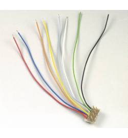 Lenz 80014 - LY014 Wtyk do dekoderów NEM652 8-pin z kablami