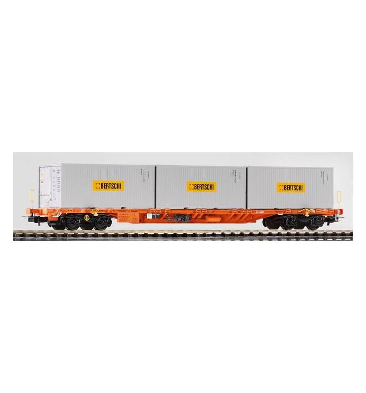 Wagon Towarowy Platforma, Sgnss Container Wascosa VI - Piko 54680