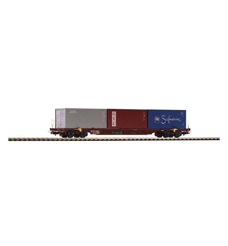 Wagon Towarowy Platforma, Sgnss NS VI - Piko 54683