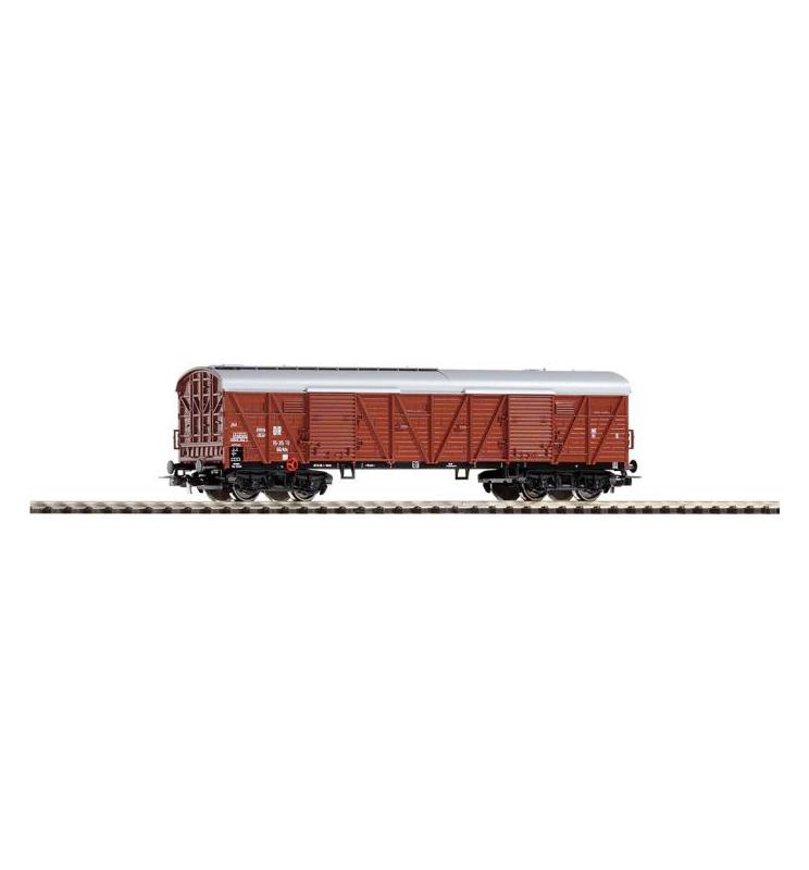 Wagon Towarowy kryty wielkogab. GGrts15 DR III m. Stirntüren - Piko 54751