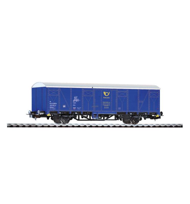 Wagon Towarowy kryty, CESKA POSTA CD V, niebieski - Piko 54966