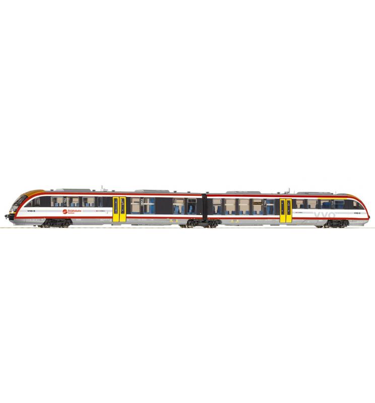 Spalinowóz Desiro Städtebahn Sachsen VI - Piko 52038