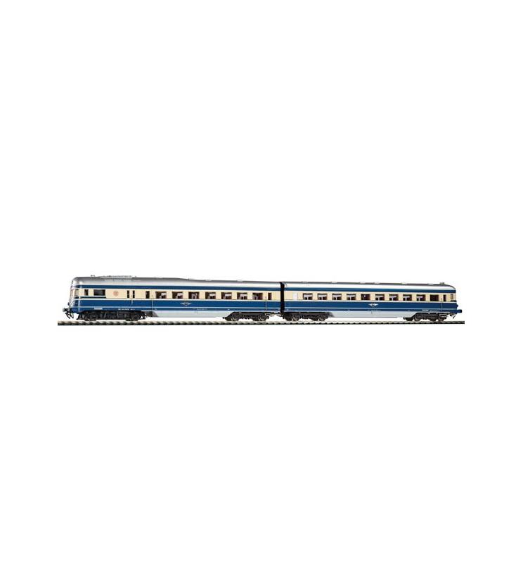 ~Spalinowy Zespół Trakcyjny Blauer Blitz Rh 5145 BBÖ III 2 części, wersja AC - Piko 52268