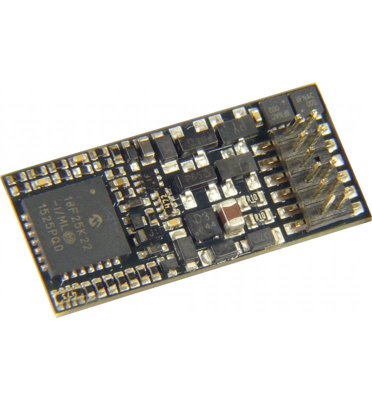 Dekoder jazdy i oświetlenia Zimo MX623P16 DCC PluX12 12-pin