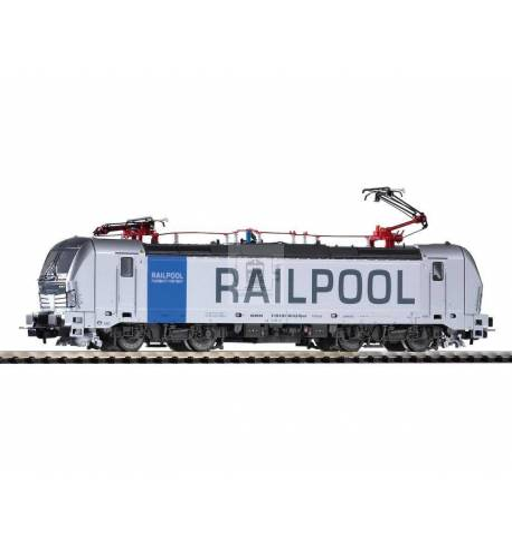 Elektrow. Vectron 193 Railpool VI, 2 Pantos - Piko 59970