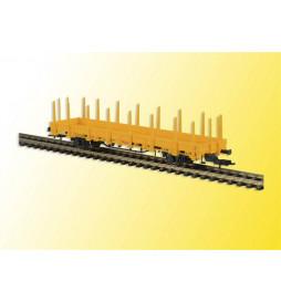 Kibri 16200 - H0 Wagon platforma żółta