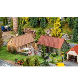 2 domy z klinkieru - Faller 130507