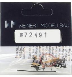 Weinert 72390 - Latarnia zwrotnicowa (prawa/lewa) z podświetleniem, MeinGleis