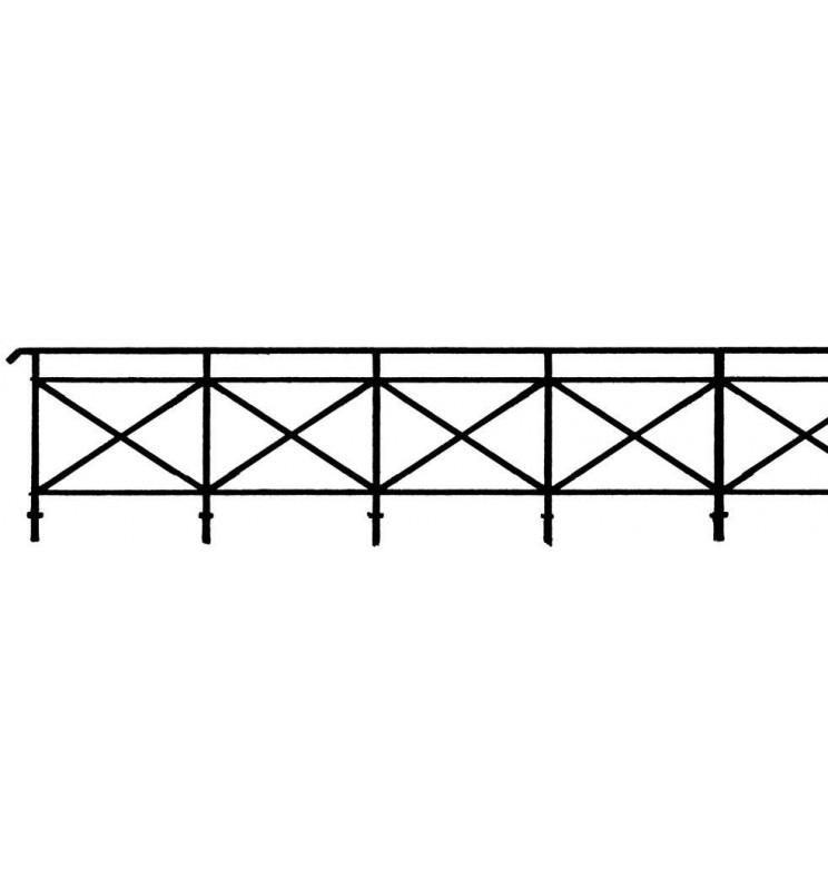 Weinert 3251 - Balustrada na mosty i wiadukty H0
