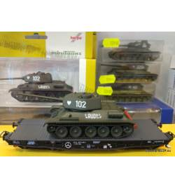 """Herpa 745888 - Kampfpanzer T-34/85 """"NVA"""""""