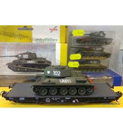 "Czołg T-34 ""Rudy"" 102, Herpa"