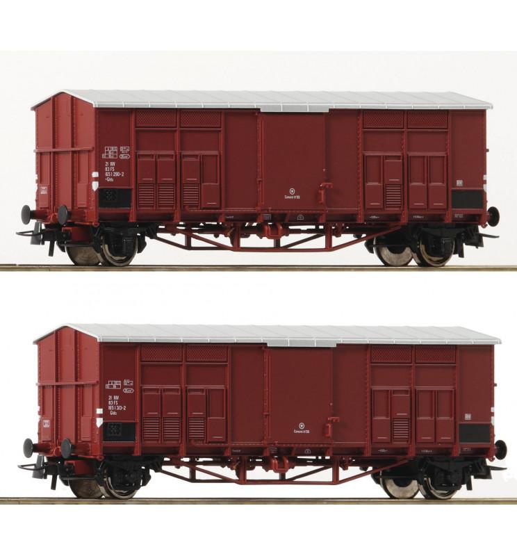 Roco 76164 - 2pc.Set closedcar FS