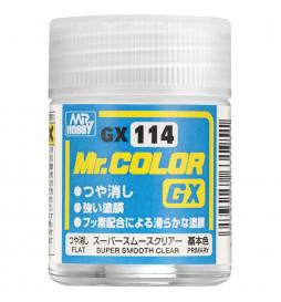 Mr.Hobby GX-113 - Farba Mr. Color, Super Clear III UV Cut Flat