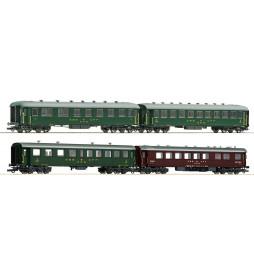 Roco 74126 - Zestaw 4 wagonów pociągu pospiesznego SBB
