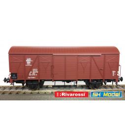 Rivarossi HRS6429 - Dwuosiowy wagon kryty PKP typu 223K/1, serii .Ggs (Kddet), ep. IVa