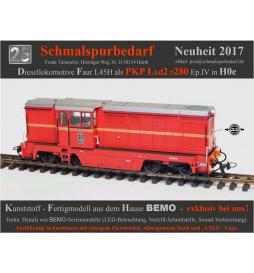 Bemo Lxd2-280 - Lokomotywa spalinowa H0e PKP