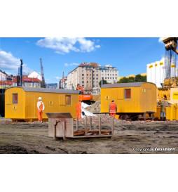 Kibri 15700 - H0 Construction site units