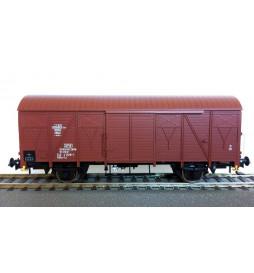 Rivarossi HRS6437 - Dwuosiowy wagon kryty PKP typu 223K/1, serii Gkks-tx, ep. IVc
