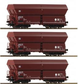 Roco 67082 - 3-tlg. Set: Selbstentladewagen, DB