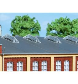 Auhagen 80203 - BKS Świetliki dachowe, wzór F
