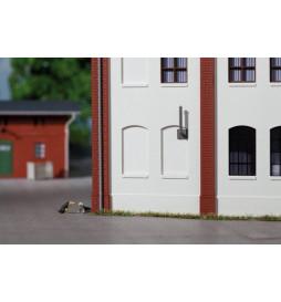 Auhagen 80207 - BKS Okna zasklepione gładkie