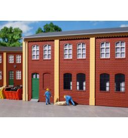 Auhagen 80506 - BKS Ściany 2323A oraz 2323B czerwone