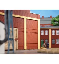 Auhagen 80512 - BKS Ściany 2342I czerwone