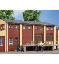 Auhagen 80519 - BKS Ściana 2410E, Ściany 2410F i Ściany 2410H czerwone