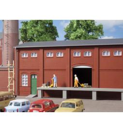 Auhagen 80520 - BKS Ściana 2410A, Ściany 2410B i Ściany 2410D czerwone