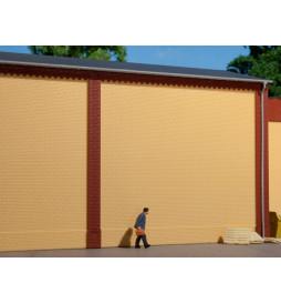 Auhagen 80600 - BKS Ściany 2324A żółte