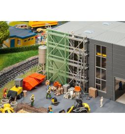 Faller 180345 - Zestaw wyposażenia placu budowy