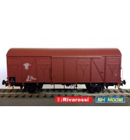 Rivarossi HRS6438 - Dwuosiowy wagon kryty PKP typu 223K/1, serii Gkks-tx, ep. IVc-Va