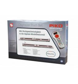 Piko 59006 - Zestaw startowy cyfrowy PIKO SmartControl® light z szybkim pociągiem ICE 3