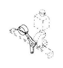 Weinert 72271 - Dźwignia ręczna do rozjazdów MeinGleis