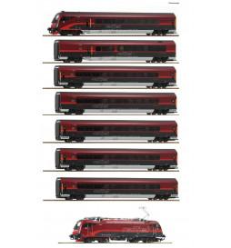 Roco 74114 - Zestaw pociągu Railjet ÖBB (8 elementów)