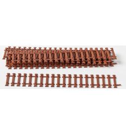 Weinert 74028 - Stalowe podkłady pod szyny o długości 14cm, MeinGleis Code 75, 40 szt.