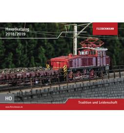 Fleischmann 990318 - Katalog H0 na lata 2018/19