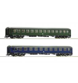Roco 74113 - Zestaw 2 wagonów pociągu pospiesznego DB, ep. III
